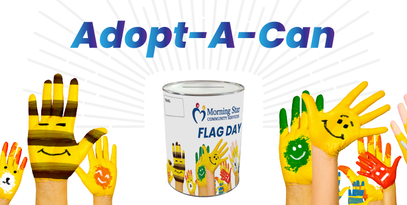 Lend a helping hand, adopt a Flag Day can
