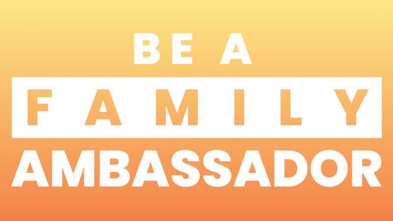 YFC Be a Family Ambassador