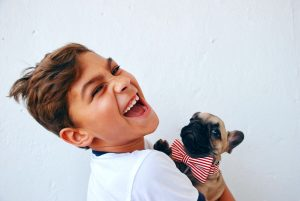 The Wonderful Relationship Between Child and Pet