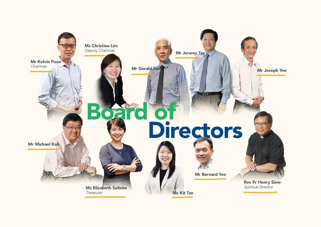 MSCS Board Members 2021